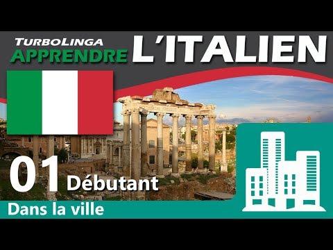 Apprendre l'italien pour débutants, Dans la ville 01