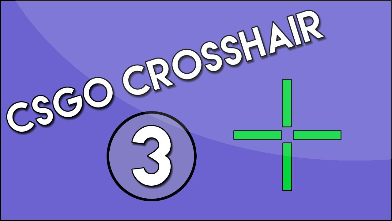 csgo how to get small crosshair