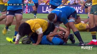 Wallabies defeat Italy in Brisbane