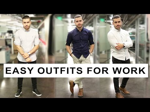 HOW TO DRESS WELL | WORK AND OFFICE ATTIRE FOR MEN | ALEX