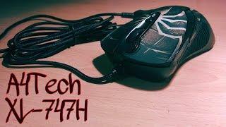 Обзор и распаковка игровой мыши A4Tech XL-747H