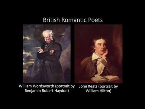 Romanticism With Wordsworth, Keats, And Whitman