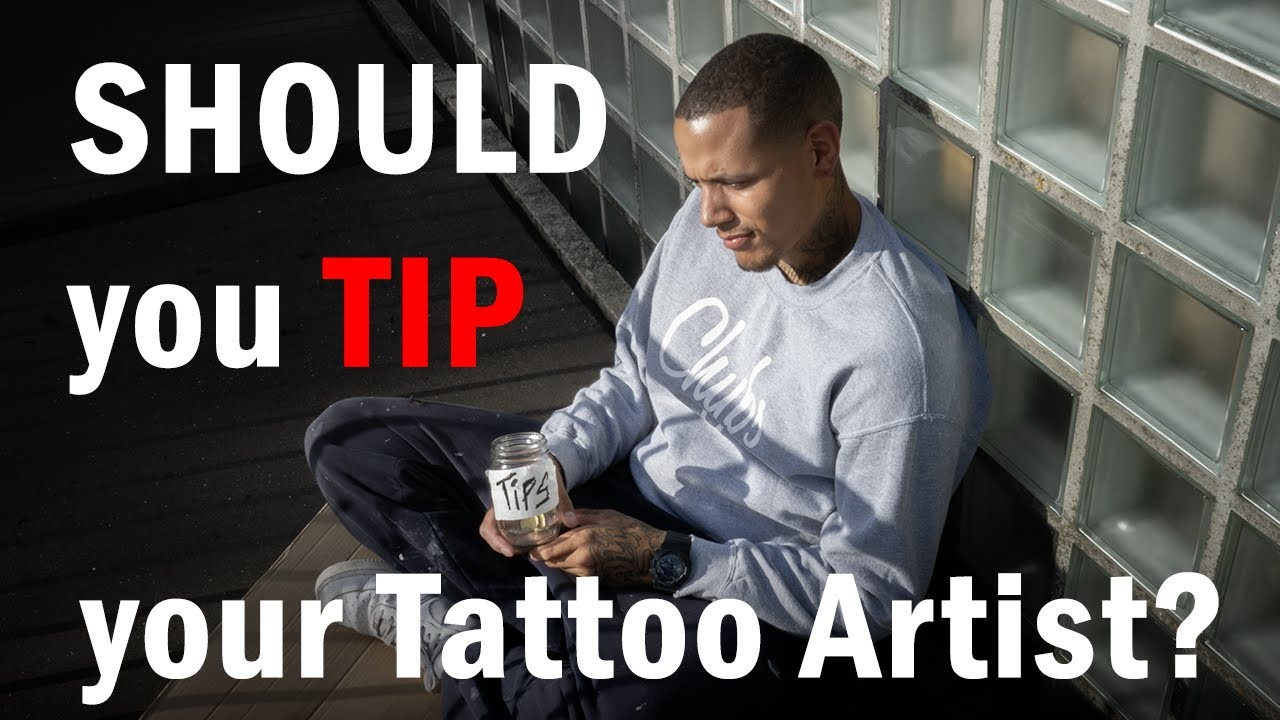 SHOULD YOU TIP YOUR TATTOO ARTIST? A tattoo artists point of view // Tattoo  talk with Chybs