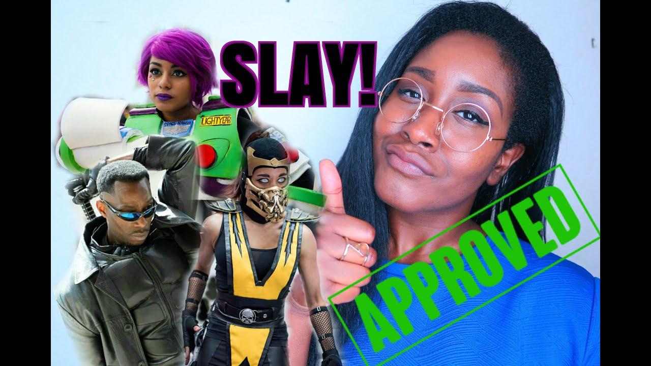 THESE BLACK COSPLAYERS SLAY! - YouTube