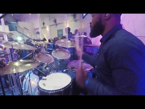 Short Afro Praise - Drum Cam