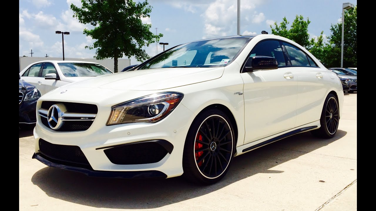 2015 mercedes benz cla class cla 45 amg full review. Black Bedroom Furniture Sets. Home Design Ideas