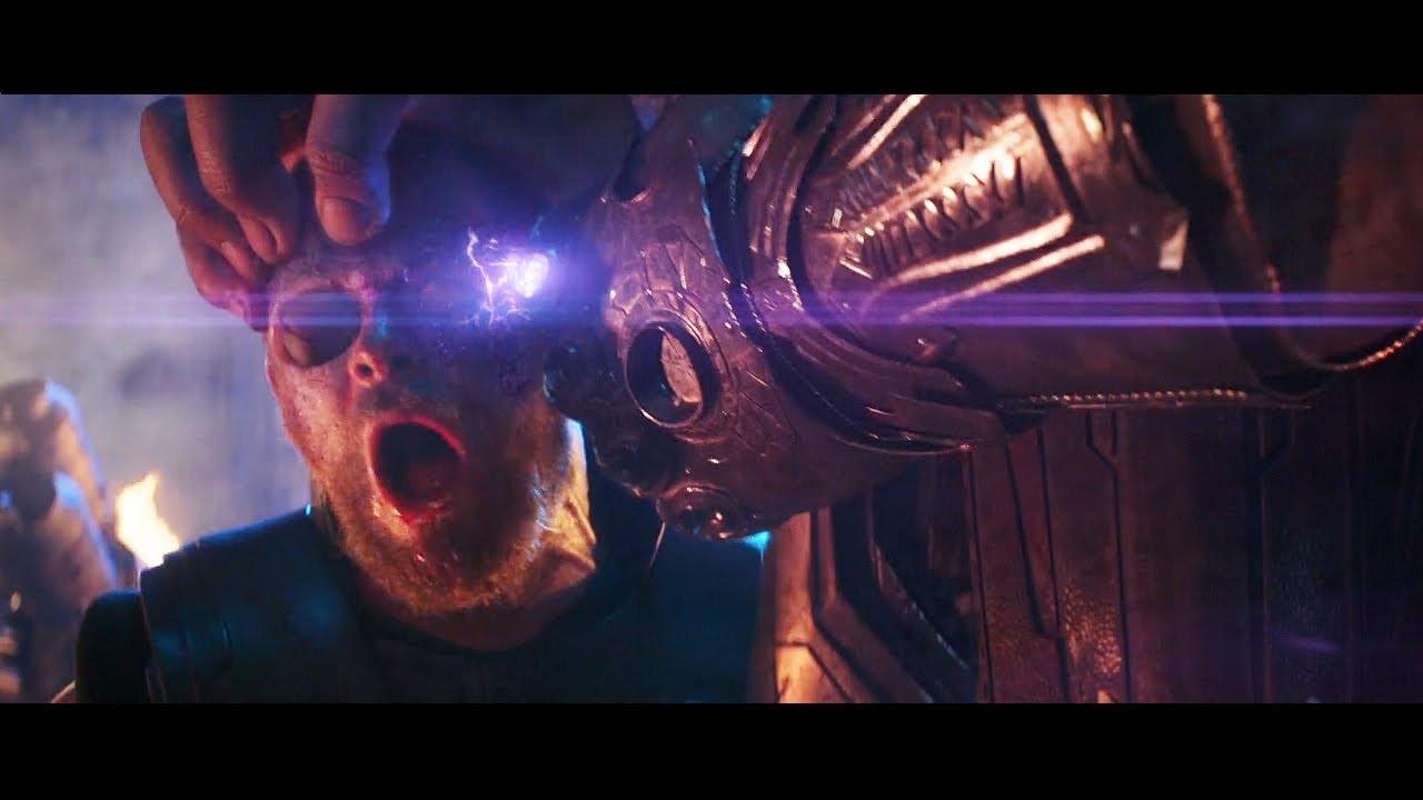Avengers infinity war post credits scene online