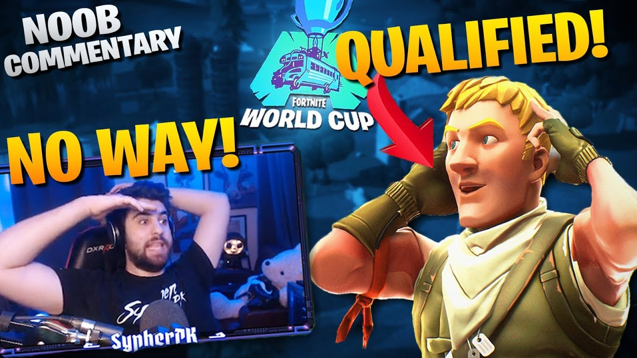 This NOOB Qualified For The World Cup!? - Noob Commentary ...
