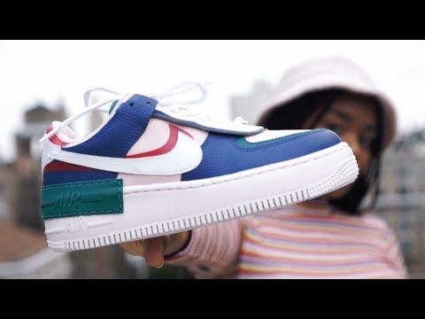 Nike Air Force 1 Shadow Youtube