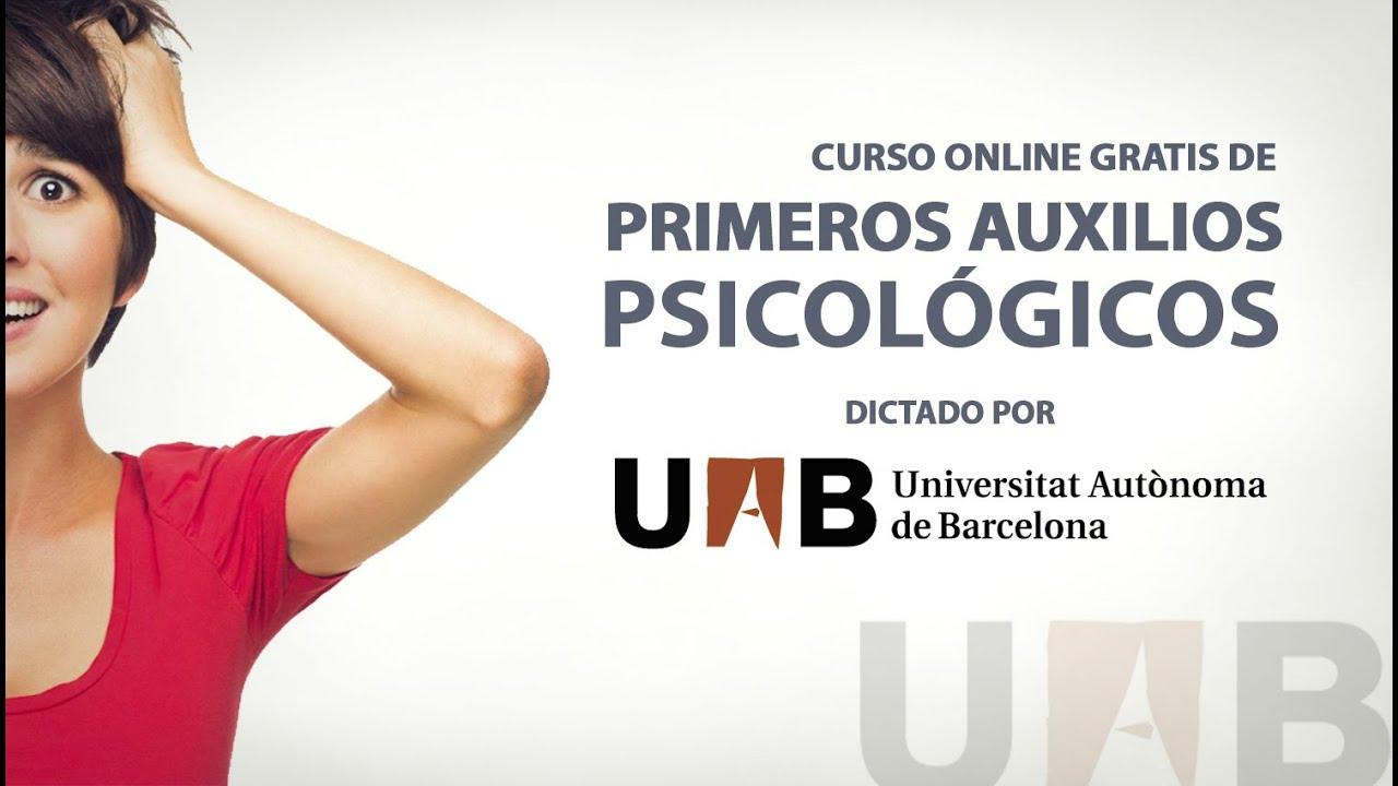 Curso gratis de primeros auxilios psicol gicos youtube for Curso de melamina gratis
