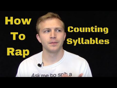 How To Rap: Counting Syllables