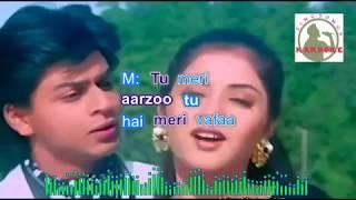 AISI DEEWANGII hindi karaoke for Male singers with lyrics (ORIGINAL TRACK)
