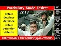vocabulary made EASIEST 32.13 learn etymology by puneet biseria in Hindi
