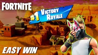 HOW TO GET A EASY DUO SQUAD WIN - FORTNITE