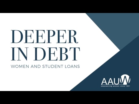 """Research Launch: """"Deeper in Debt: Women and Student Loans"""""""
