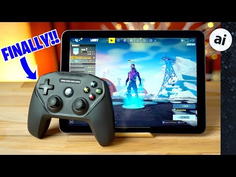 fortnite-with-controller-on-ipad-pro-&-iphone-xr-is-epic!