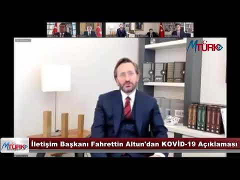 İletişim Daire Başkanı Fahrettin Altun