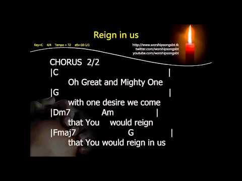 Reign in us Karaoke, Instrumental, cover - Starfield