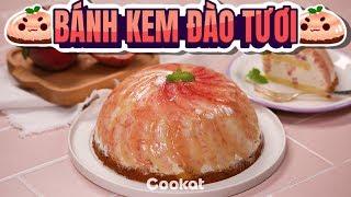 [Cookat Việt Nam] Bánh Kem Đào Tươi