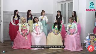 #FACT about Nancy revealed by co-members 🤣