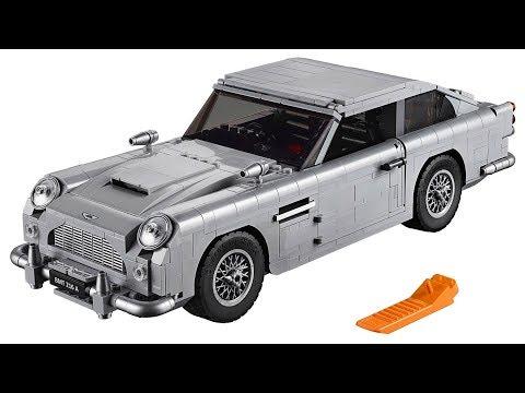 Lego James Bond Aston Martin DB5 product launch