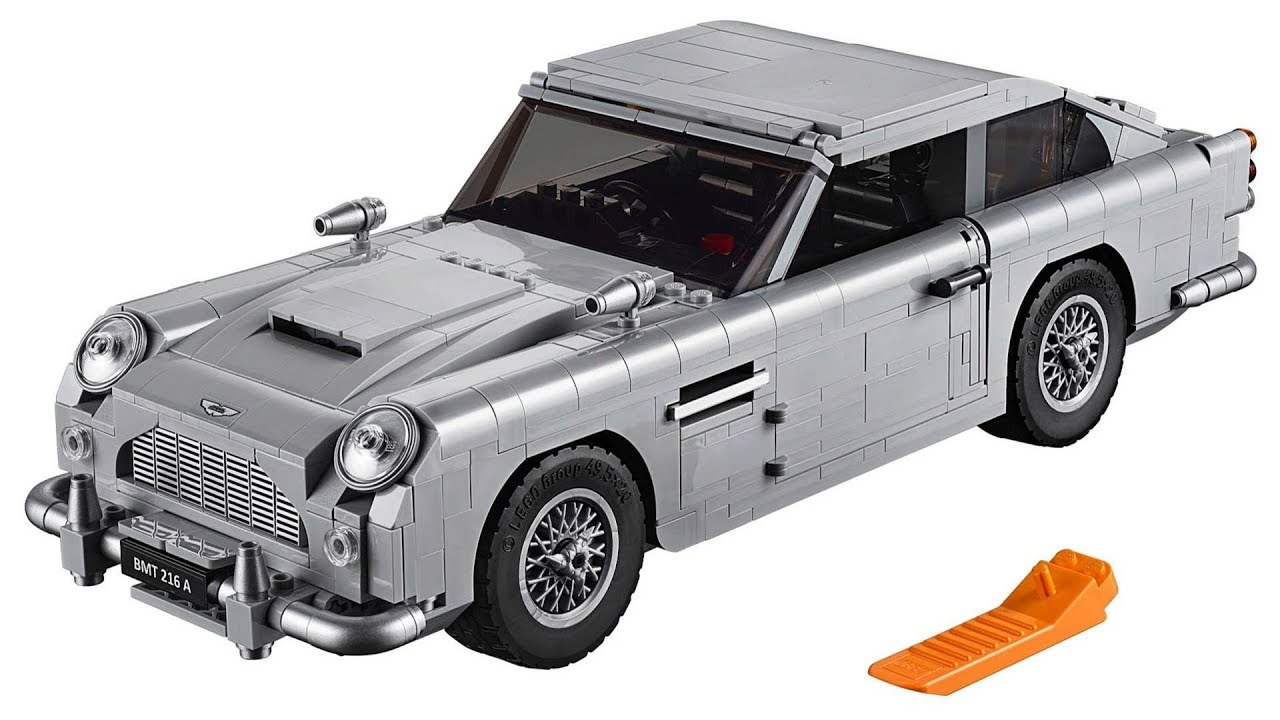 lego james bond aston martin db5 product launch youtube. Black Bedroom Furniture Sets. Home Design Ideas