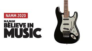 NAMM 2020: Fender - Tom Morello Soul Power Stratocaster - Sound Demo (no talking)