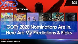 Game Awards 2020 GOTY Nominations Are In, Here Are My Predictions & Picks