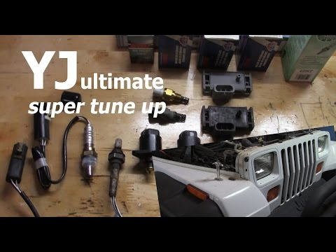 Jeep YJ (Wrangler) Super Tune Up | Get that perfect pep & idle