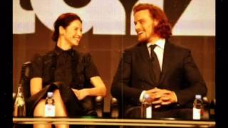sam heughan and caitriona balfe