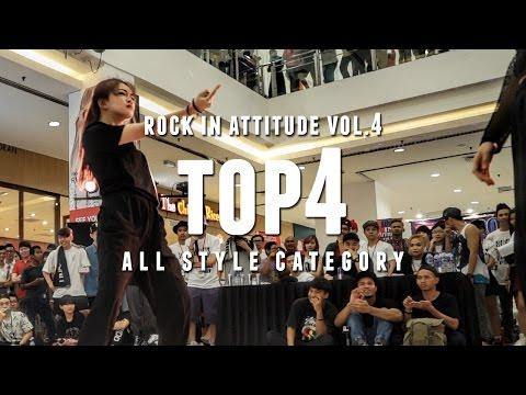 Xiao M vs Apple | All Style Top4 | Rock In Attitude Vol. 4 Malaysia | RPProductions