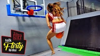 Tilted Kilt: Talk Flirty to Me - Trampoline Basketball