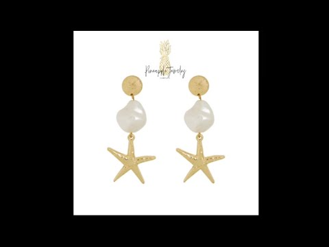 Starfish Earrings - Pineapple Jewelry Company - Starfish Earrings