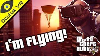 Skydiving in GTA Online VR! ■ Rifter vs Rifter GTA 5 Oculus Rift DK2 Gameplay feat. Nathie