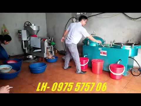 Máy ép dầu công nghiệp, bình lọc dầu khí nén xanh - YouTube