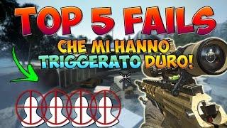 5 FAILS CHE MI HANNO TRIGGERATO DURO!