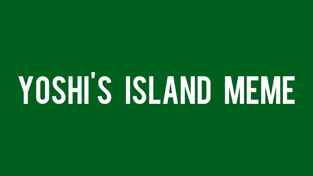 Yoshi's island meme - Audio para memes - YouTube