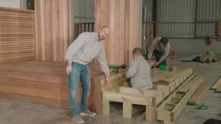 How to fit Iroko Hardwood Decking
