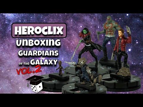 Heroclix Unboxing: Guardians of the Galaxy vol. 2