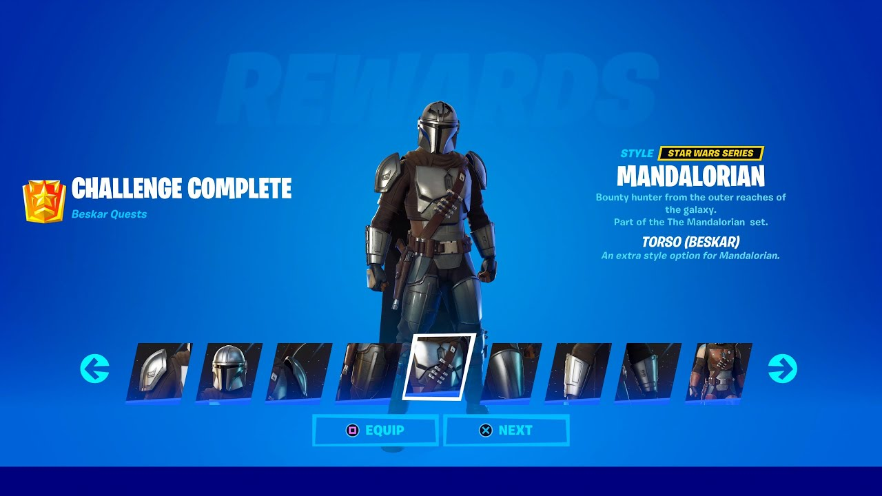 Download How to Unlock Mandalorian Beskar Styles in Fortnite (All Mandalorian Challenges)