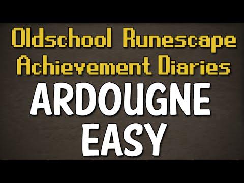 Ardougne Easy Achievement Diary Guide | Oldschool Runescape