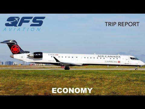 TRIP REPORT | Air Canada Express - CRJ 900 - Montréal (YUL) To Québec City (YQB) | Economy
