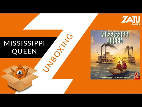 Mississippi Queen Unboxing