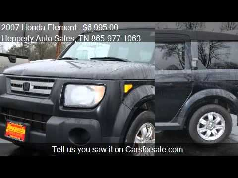 2007 honda element ex awd 4dr suv for sale in maryville tn youtube. Black Bedroom Furniture Sets. Home Design Ideas