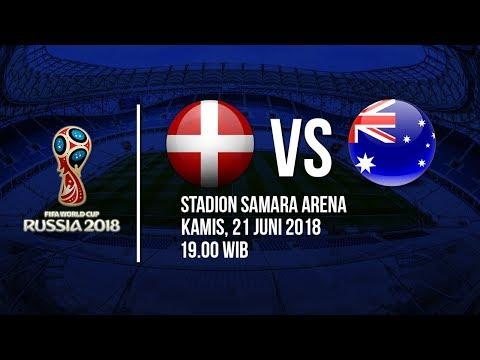 Jadwal Live Trans TV Pertandingan Piala Dunia 2018: Denmark Vs Australia