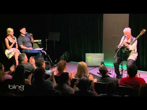 Bruce Cockburn - Interview (Bing Lounge)