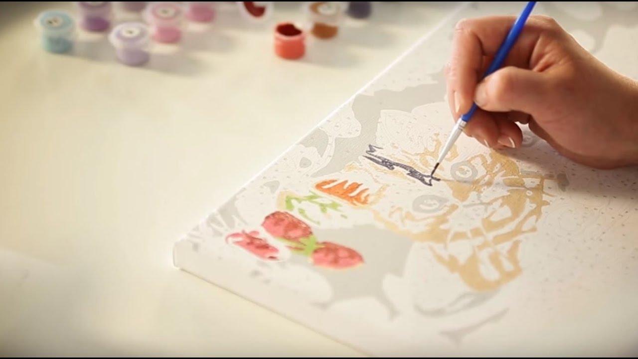 <b>Набор для рисования по</b> номерам [Domatv.by] - YouTube