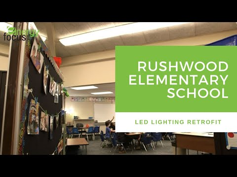 Rushwood Elementary School LED Lighting Retrofit