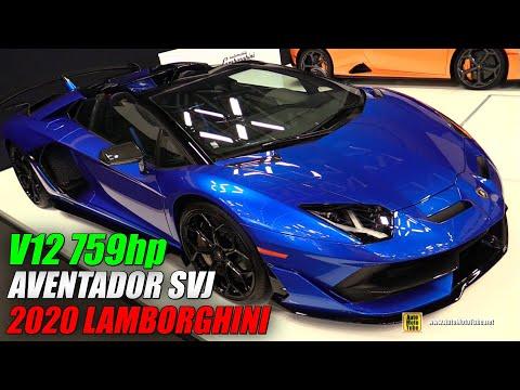 2020 Lamborghini Aventador SVJ - Walkaround - 2020 Montreal Auto Show