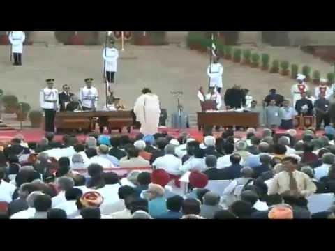 Shri Narendra Modi takes oath as Prime Minister of India at Rashtrapati Bhavan